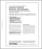 Scott U.S. Postal Stationery Album Supplement, 1991 - 1992, #52