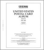 Scott US Postal Cards Album Part, Part 3 (1996 - 1999)