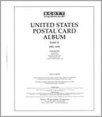 Scott US Postal Cards Album Part, Part 2 (1982 - 1995)