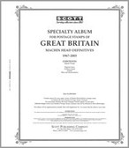 Scott Great Britain Machins Album Pages Part I (1967- 2009)