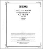 Scott Cyprus Stamp Album Pages, Part 1  (1958 - 1998)