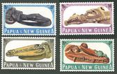 Papua New Guinea, Scott Cat No. 199-202 (Set), MNH