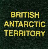 Scott British Antarctic Territory Specialty Binder Label