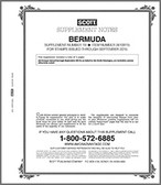 Scott Bermuda Stamp Album Supplement, 2015 #19