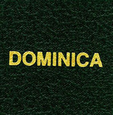 Scott Dominica Specialty Binder Label