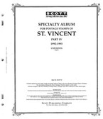 Scott St. Vincent Stamp Album Pages, Part 4 (1992 - 1993)
