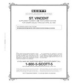 Scott St. Vincent Stamp Album Supplement, 1998 #3