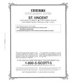 Scott St. Vincent Stamp Album Supplement, 2000 #5