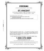 Scott St. Vincent Stamp Album Supplement, 2002 #7