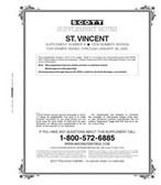 Scott St. Vincent Stamp Album Supplement, 2009  #12