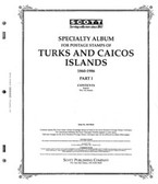Scott Turks & Caicos Islands Album Pages, Part I (1860 - 1986)