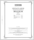 Scott Belgium Stamp Album Part I,  1849 - 1947
