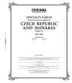 Scott Czechoslovakia Stamp Album Part 6,  2000 - 2006