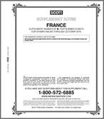 Scott France Stamp Album Supplement, 2015 #50