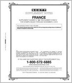 Scott France Stamp Album Supplement, 2012 #47