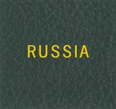 Scott Russia Album Binder Label