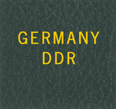 Scott Germany DDR  Binder Label