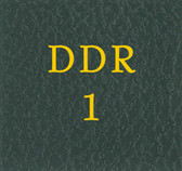 Scott Germany DDR 1 Binder Label