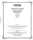 Scott Russia Stamp Album Pages, Part 8  (2004 - 2008)
