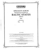 Scott Baltic States Stamp Album, Part 3 (1999 - 2006)