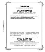 Scott Baltic States Stamp Album Supplement 2007, No. 16
