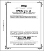 Scott Baltic States Stamp Album Supplement 2012, No. 21