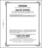 Scott Baltic States Stamp Album Supplement 2011, No. 20