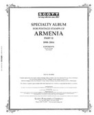 Scott Armenia Stamp Album, Part 2 (1998 - 2004)