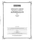 Scott Azerbaijan Stamp Album, Part 2 (1998 - 2006)