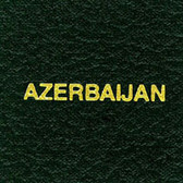Scott Azerbaijan Specialty Binder Label