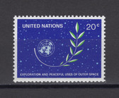 United Nations -  Offices in New York, Scott Cat. No. 373, MNH