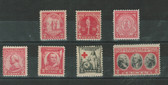 United States 1931 - 1933 Commemorative Year Set, Scott Cat. Nos.  0682 - 683, 688 - 690, 702 - 703, MNH