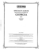 Scott Georgia Stamp Album, Part 1 (1919 - 1997)