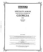 Scott Georgia Stamp Album, Part 1 (1919 - 1997)