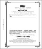 Scott Georgia Stamp Album Supplement, 2012,  No. 14