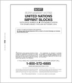 Scott United Nations Imprint Blocks Album Supplement, 2016 #65