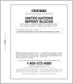 Scott United Nations Imprint Blocks Album Supplement, 2009, #58