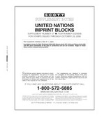 Scott United Nations Imprint Blocks Album Supplement, 2008, #57