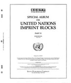 Scott United Nations Imprint Blocks Album Part, Part 2 (1963 - 1970)