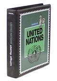 Scott United Nations Minuteman Album, Part 1 - Pages and Binder (1951 - 1999)