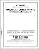 Scott United Nations Minuteman Album Supplement, 2008 #18