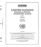 Scott United Nations Stamp Album Part, Part 1 (1951 - 1987)