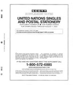 Scott United Nations Stamp Album Part, Part 2 (2000 - 2005)