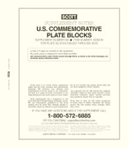 Scott US Commemorative Plate Block Supplement, 2018 #69