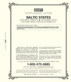 Scott Baltic States Stamp Album Supplement 2017, No. 26