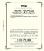 Scott French Polynesia Stamp Album Supplement 2017 #22