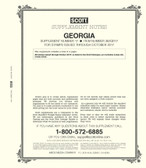 Scott Georgia Stamp Album Supplement, 2017, No. 17