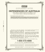 Scott Australia Dependencies Album Supplement, 2017 #30