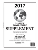 2017 H. E. Harris Worldwide Album Supplement