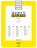 2019 Scott Mount Kit for United States Stamps issued in 2019
